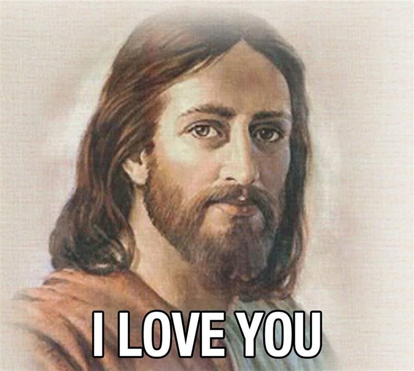 Jesus te dit je t'aime